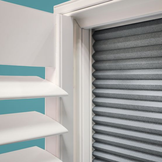Shutter and shade shutters