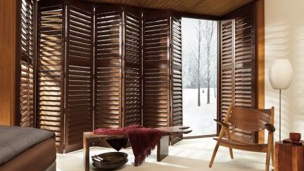 Contemporary_wooden_patio_shutters, Full_height_shutters, white_shutters, sun_room_shutters, patio_shutters,