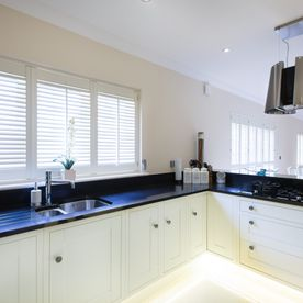 Kitchen, Hygienic, washable shutters for all areas,